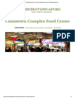 Chinatown Complex Food Centre - Recommended Hawker Centre | TheBestSingapore.com