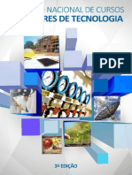 Catálogo Nacional Dos Cursos Superiores de Tecnologia 2016
