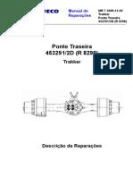MR 07 Trakker Ponte Traseira - Português