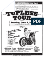 Topless Tour Flyer--Sunday, June 6th, 2010--Southern DuPage ABATE