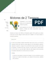 Motores de 2 Tiempos MOTOR PIVOTAL