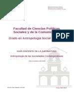 Antropologia de Las Sociedades Contemporaneas - Curso 1516