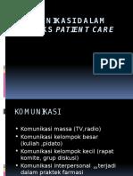 2. Komunikasi Dalam Konteks Patient Care