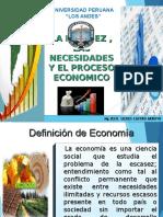 01 - Escasez, Necesidades Proceso Economico
