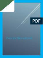 Paseo Por Microsoft Word