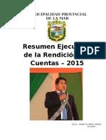 AUDIENCIA PUBLICA - RENDICIÓN DE CUENTAS