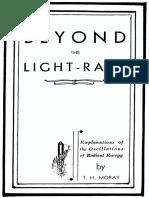 Beyond the Lightrays
