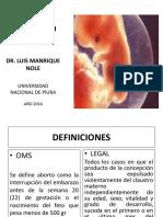 Clase Aborto IVClase Aborto IV