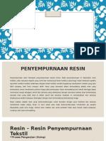 Leaflet Resin