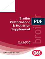 Cobb500 Broiler Performance and Nutrition Supplement