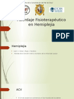 Abordaje Fisioterapéutico en Hemiplejia