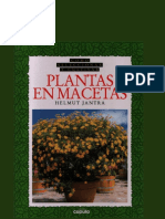 Plantas en Macetas - Helmut Jantra