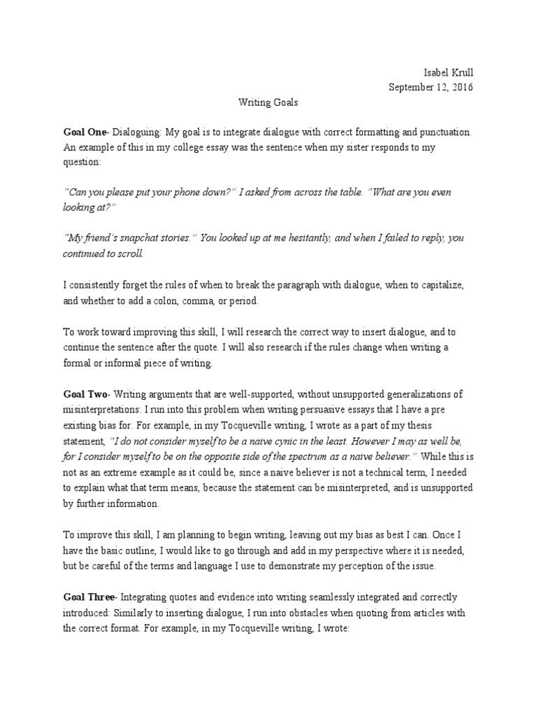 detocqueville outline essay