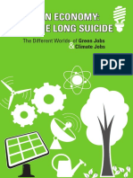 Climate Change - Green Economy Booklet - Printed - 19 Sept13