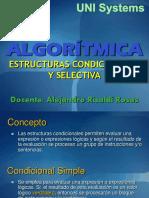 java estructuras condicionales