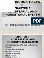 Adverserial Inquisotorial (Chapter 2)