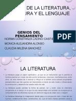 El Papel de La Literatura%2c La Cultura y El Lenguaje