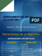 Herramientas de Un Algoritmo Resolver
