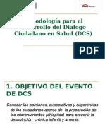 Metodologia Dialogo Ciudadano