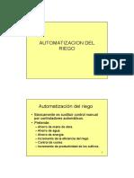 Automatizacion Riego