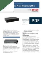 PLE-1ME Mixer Amplifier Datasheet
