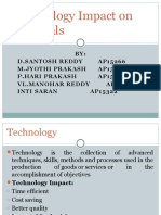 Technology Impact on Materials