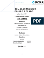 Informe 1 - Electronica - Romero