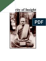 Clarity of Insight