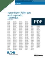 Manual Diagnostico Fallas Transmisiones Fuller Trts0910s Eaton Camiones Servicio Pesado Mantenimiento Reparacion