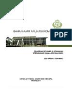 Aplikasi Komputer I Dan II_Edi Basuki Rakhmad