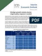 OECD Interim Economic Outlook February 2016
