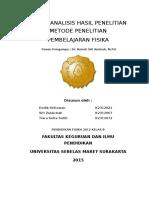 Tugas Analisis Hasil Penelitian _Kelompok 4_Kelas B_2012