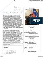 Nicolás Maduro - Wikipedia, The Free Encyclopedia