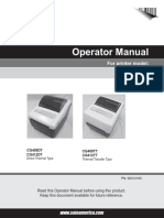 CG4 Series Operator Manual