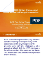 P-1-10 NFPA 45 - 2015 Edition Changes and Issues Related to Energy Conservation