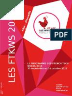 Programme FTWKS 2016