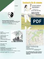 Seminario Tai Chi Xin Yi Octubre 2016