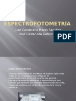 Espectrofotometría