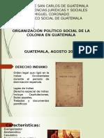 Organización Colonial