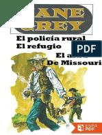 El Policia Rural - Canyon Walls - Zane Grey