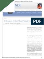 Ordenando El Caos_ Ilya Prigogine y La Teoría Del Caos - Revista Esfinge