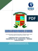 Proceso Constructivo de Malla Perimetral
