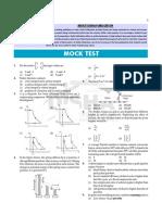 Mock Test for Gate Mechanical Exam