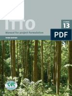 Ittto Manual for project formulation