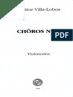 25. Choros 10 - Violoncelo