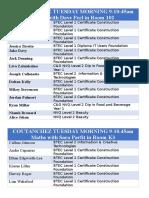 maths class list 2016 - Personalbogen Muster