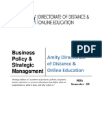 Business Policy Strategic Management E-book