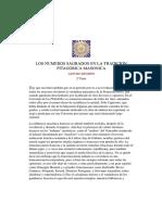 Arturo Reghini. Los Números Sagrados en La Tradición Pitagórica Masónica-2 - Arturo Reghini