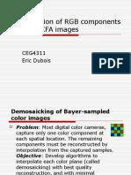 Interpolation Rg b Components