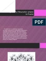 Managementul Resurselor Umane in Franta